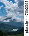 湯ノ湖 湖 男体山の写真 47602395