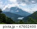 湯ノ湖 湖 男体山の写真 47602400