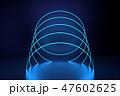 立体 3D 3Dのイラスト 47602625