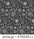 フローラル 植物画 ベクターのイラスト 47604011