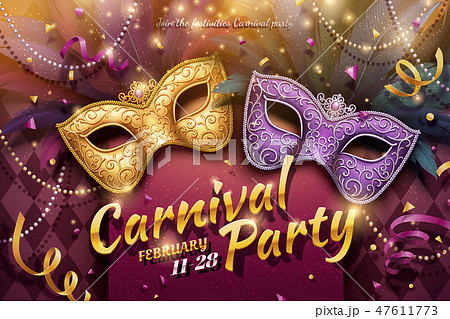 Carnival party design 47611773