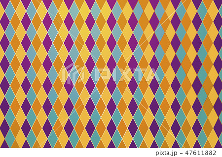 Colorful rhombus background 47611882