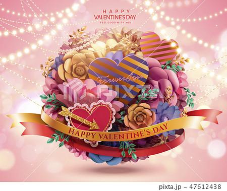 Happy valentine's day card 47612438