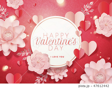 Happy valentine's day card 47612442