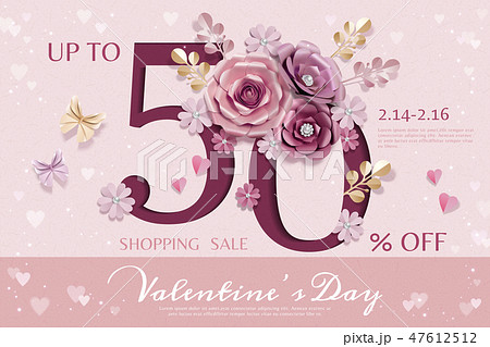 Happy Valentine's day sale 47612512