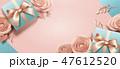 プレゼント コピ-スペース 贈り物のイラスト 47612520