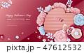 ギフトボックス のぼり バナーのイラスト 47612532