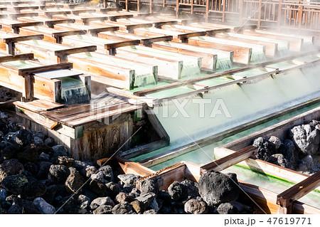 草津温泉・湯畑 47619771