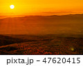 那須高原 風景 朝日の写真 47620415