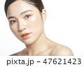 ポートレート 女性 若い女性の写真 47621423
