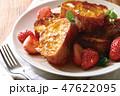 フレンチトーストイメージ 47622095