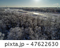 霧氷 冬 早朝の写真 47622630