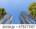 ビル 春 高層ビルの写真 47627387