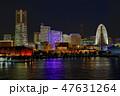 横浜港 夜景 横浜の写真 47631264