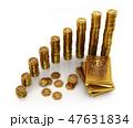 金 黄金 金色のイラスト 47631834
