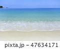 白良浜 海 ビーチの写真 47634171