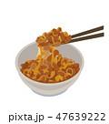 納豆 イラスト 47639222