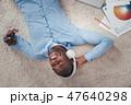 ヘッドフォン ミュージック 国際的の写真 47640298