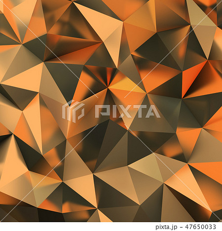 golden polygonal background 47650033
