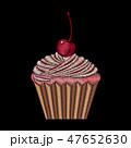 食 料理 食べ物のイラスト 47652630