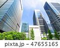 高層ビル オフィス街 ビジネス街の写真 47655165