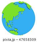 地球 惑星 世界のイラスト 47658309