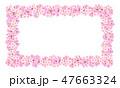 桜 春 背景のイラスト 47663324