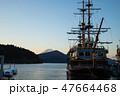芦ノ湖 箱根町 山の写真 47664468