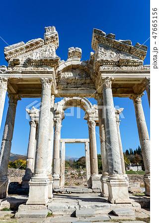 アフロディシアス遺跡のテトラピロン 47665156