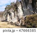 大谷景観公園の岩壁 47666385