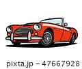 ベクター 車 自動車のイラスト 47667928