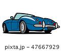 ベクター 車 自動車のイラスト 47667929