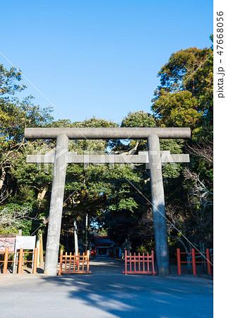 息栖神社 二の鳥居 (茨城県神栖市) 2019年1月現在 47668056