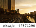 中央本線と神田川 47671290