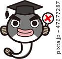鰻 博士 ベクターのイラスト 47677287