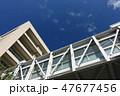 青空と建物 47677456