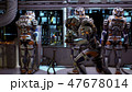 The astronauts in the dashboard of the spaceship, past the soldiers ran in pursuit of the alien 47678014