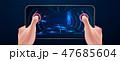 将来的 未来 ゲームのイラスト 47685604