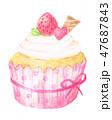 カップケーキ 47687843