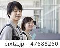 大学生 学校 教室の写真 47688260
