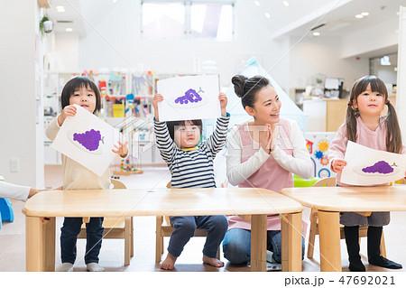 保育士、幼児、習い事、幼児教育、プレ保育 47692021