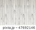 木目 白色 ベクターのイラスト 47692146