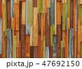 木目 背景素材 板のイラスト 47692150