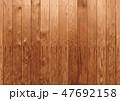 ベージュの木目背景素材テクスチャ 47692158