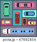 乗り物 自動車 車のイラスト 47692854