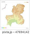 岐阜県 岐阜 地図のイラスト 47694142