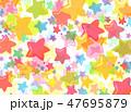 カラフル テクスチャー 模様のイラスト 47695879