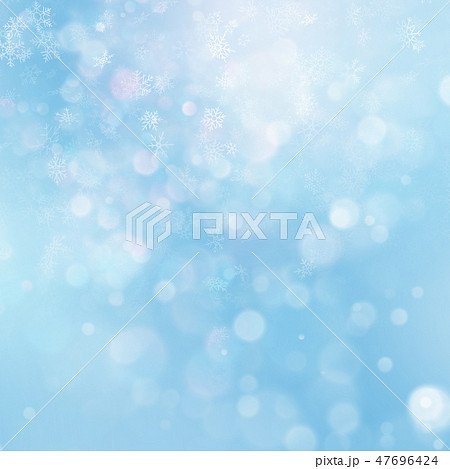 Christmas abstract template. Light background with snowflakes and stars. EPS 10 47696424