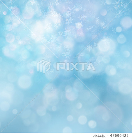 Christmas abstract template. Light background with snowflakes and stars. EPS 10 47696425