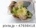 ガーベラの花束 47698418